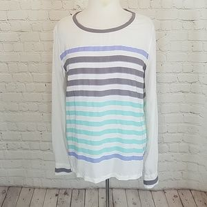 Equipment femme striped blouse
